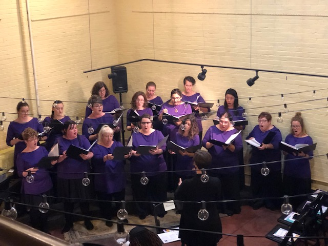 Indianapolis Women's Chorus performing at Ain't I a Woman (2019 R/Evolution)