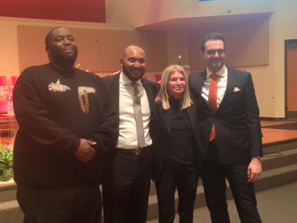 Full Circle Dreaming with Killer Mike, Rev. David Hampton, Martha Hoover and John Beeler (2015 DREAM)